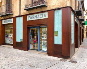 vista exterior farmacia